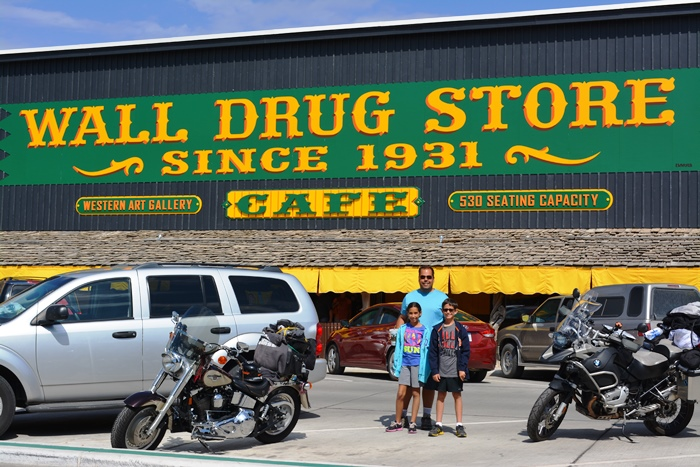at Wall Drug in Wall, SD