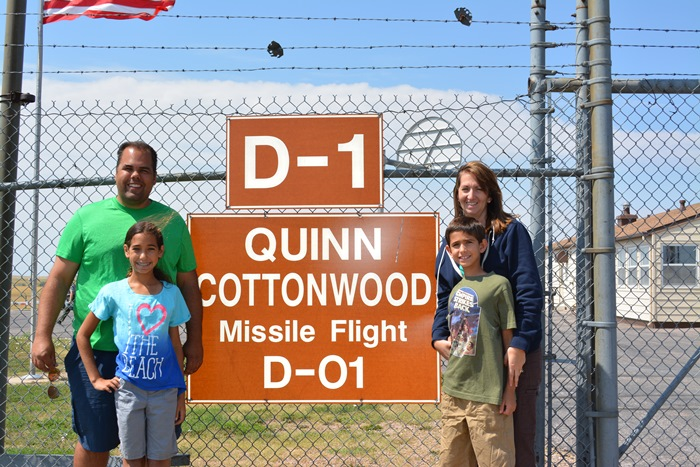 At the Minuteman Missile facility