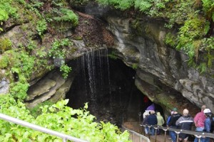The Historic Tour entrance to Mammoth Cave.