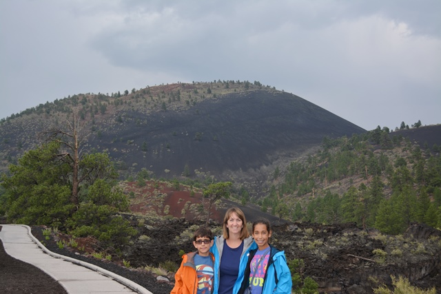 at Sunset Crater NM